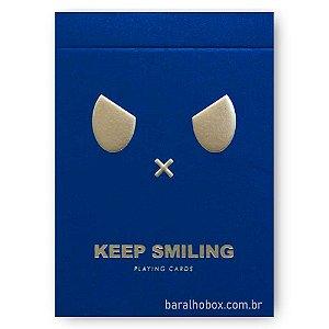 Baralho Keep Smiling Blue V2