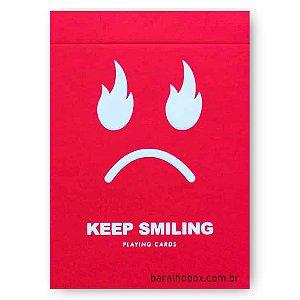 Baralho Keep Smiling Red V2