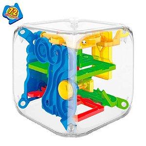 Labirinto 3D com 72 obstáculos - The Maze Cube