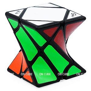 Cubo Mágico Skewb Twisty Qiyi Preto