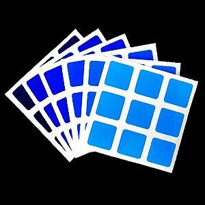 Adesivo 3x3x3 Gradient Blue