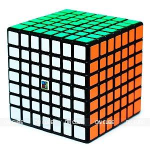 Cubo Mágico 7x7x7 Moyu MF7S Preto