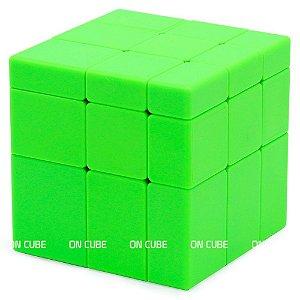 Cubo Mágico Mirror Blocks Qiyi Verde
