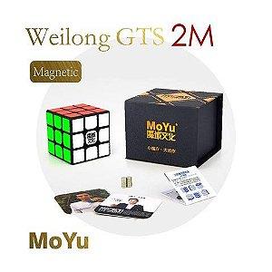3x3x3 Moyu Weilong GTS-2 M Preto