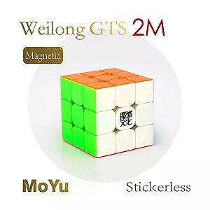 3x3x3 Moyu Weilong GTS-2 M Stickerless
