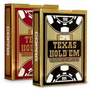 Baralho Copag Texas Holdem 100% Plástico