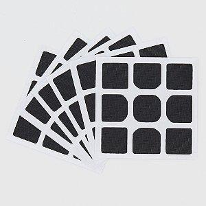 Adesivo 3x3x3 Carbono - MF3RS