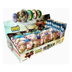 Ioiô Capcom Flowpack - Caixa com 24 ioiôs + 12 pacotes de cordas