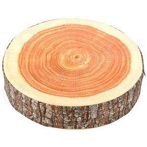 Almofada Tronco de Árvore Cortada