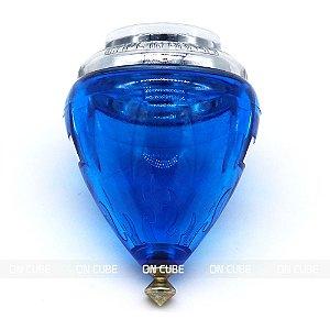 Pião Fênix Azul