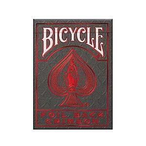 Baralho Bicycle Crimson Luxe