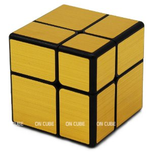 Cubo Mágico Mirror Blocks 2x2x2 Qiyi Dourado
