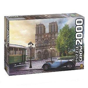 Quebra-Cabeça Catedral Notre-Dame 2000 Peças