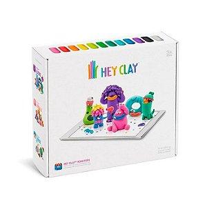 Hey Clay Monstros - Massinha de Modelar