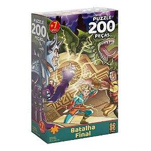 Quebra-Cabeça Batalha Final 200 peças