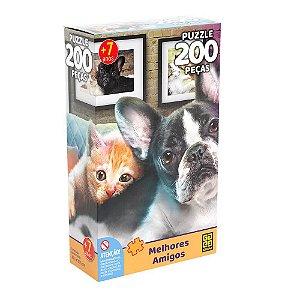 Quebra-Cabeça Melhores Amigos 200 peças