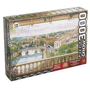 Quebra-Cabeça Varanda em Roma 3000 peças