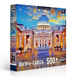 Quebra-Cabeça Basílica de São Pedro 500 peças