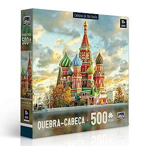 Quebra-Cabeça Catedral de São Basílio 500 peças