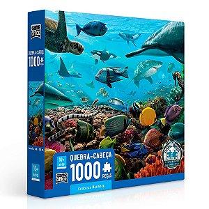 Quebra-Cabeça Criaturas Marinhas 1000 peças