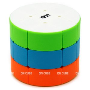Cubo Mágico 3x3x3 Qiyi Cilindro