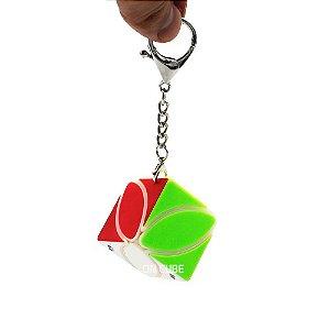 Chaveiro Cubo Mágico Mini Ivy 3,5 CM