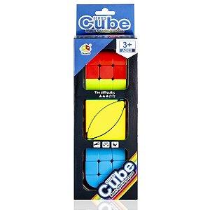 Box Cubo Mágico Fanxin - Ivy + Penrose + Cilindro