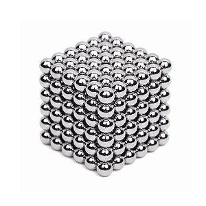 NeoCube 216 Esferas 3mm Prata