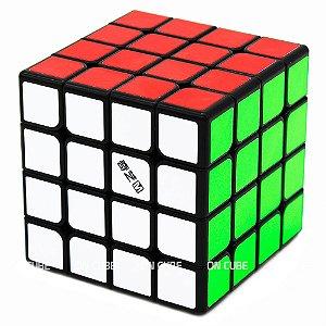 Cubo Mágico 4x4x4 Qiyi MS Preto - Magnético