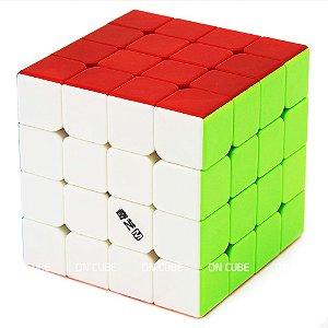 Cubo Mágico 4x4x4 Qiyi MS Stickerless - Magnético