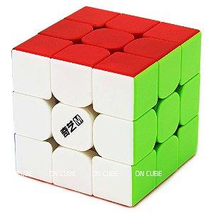 Cubo Mágico 3x3x3 Qiyi MS Stickerless - Magnético