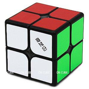 Cubo Mágico 2x2x2 Qiyi MS Preto - Magnético