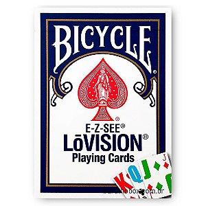 Baralho Bicycle E-Z-SEE LoVision Azul