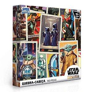 Quebra-Cabeça Star Wars - The Mandalorian 500 Peças