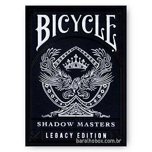 Baralho Bicycle Shadow Master V2 - Legacy Edition