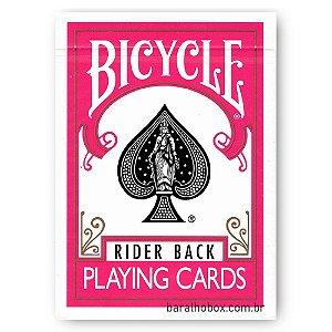 Baralho Bicycle Rider Back Fuchsia