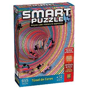 Quebra-Cabeça Smart Puzzle - Tunel de Cores 655 Peças