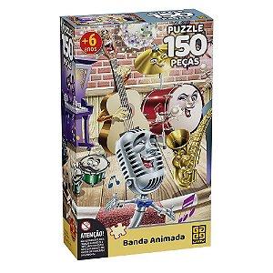 Quebra-Cabeça Banda Animada 150 peças