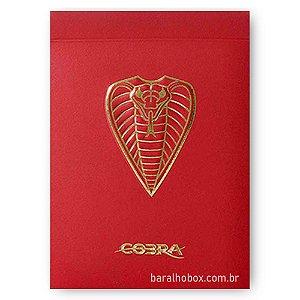 Baralho Cobra Vermelho