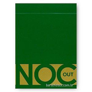 Baralho NOC Out Verde e Dourado