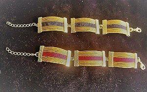 Bracelete CB4 Capim Dourado