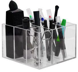 Porta Lápis - Pincéis e outros  A 10cm x L 15cm x P 15cm