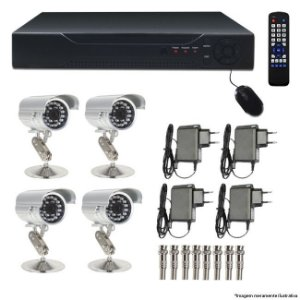 DVR - KIT 4 CAMERAS DIGITAL