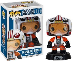 Funko Pop! Luke Skywalker (Piloto) Star Wars