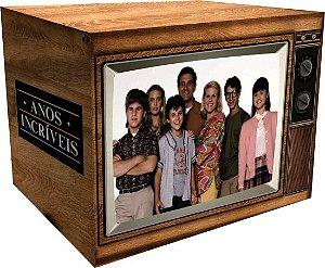 DVD Box Anos Incríveis – A Série Completa - TV Retrô - 23 Discos