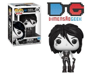 Funko Pop! Dc Super Heroes Sandman Death Exclusive #234 Raro