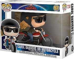 FUNKO POP! RIDES: Captain Marvel - Carol Danvers on Motorcycle