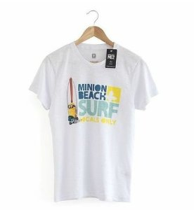 Camiseta - Minion Beach Surf - Meu Malvado Favorito