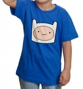 Camiseta - Finn - Hora de Aventura - Adventure Time