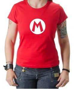 Camiseta - Mario - Logo